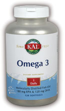 Omega 3, 120 Softgels