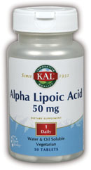 Alpha Lipoic Acid 50 mg 30 Tablet