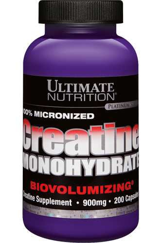 Creatine Monohydrate 900mg 200 caps