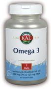 Omega 3,  60 Softgels