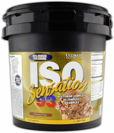 Iso Sensation 93 5 Lbs Chocolate Fudge