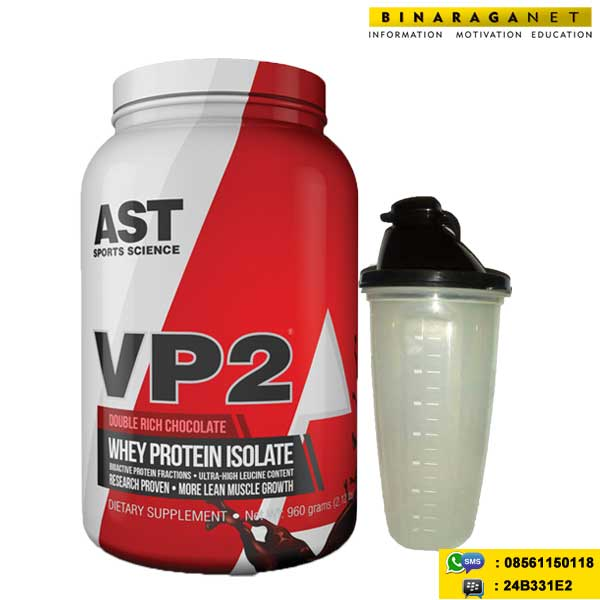 VP2 Whey Isolate 2 Lbs Double Chocolate