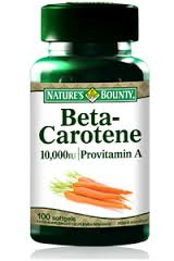 Beta Carotene 1000 iu 100 Softgels