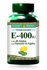 Vitamin E 400 iu Water Soluble 100 softgels