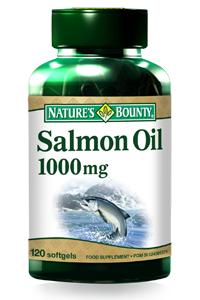 Salmon Oil 1000 mg 120 softgels