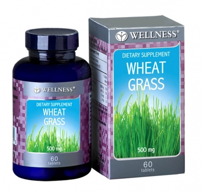 Wheat Grass 500 Mg 60 Tabs