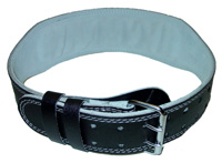 4 Inchi, Firm Fit Padded Belt Pro 50, Black, Natural (L)