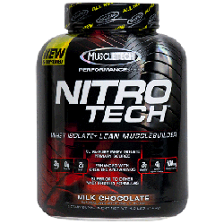 NitroTech  4Lbs Milk Chocolate