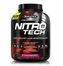 Nitro Tech 4Lbs Strawberry