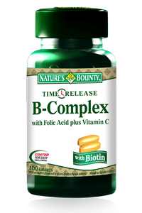 B Complex + Vitamin C Release 100 Tablet