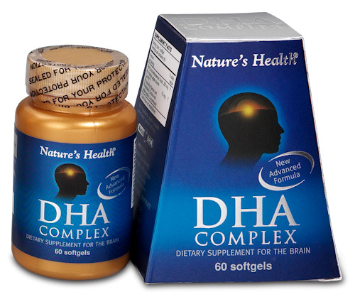 DHA Complex 500mg 60Softgels