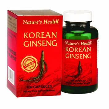 Korean Gingseng 500mg 100 Capsules