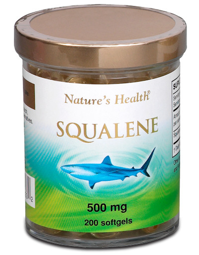 Squalene 500mg 200Softgels