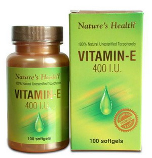 Vitamin E 400 iu 100 Softgels