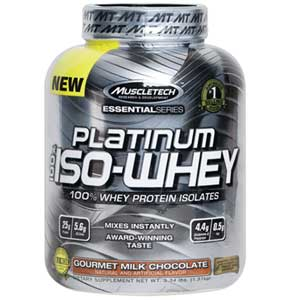 Platinum Iso Whey 3.3Lbs Chocolate