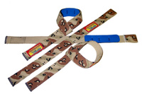 1 1/2 Inchi, Cotton PADDED MILITARY Lifting Straps Pro-55