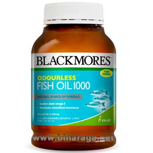 Odourless Fish Oil 1000 400 Softgels