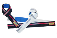 2 Inchi, Cotton PADDED Lifting Straps Pro-7