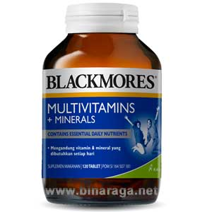 Multivitamin + Minerals 120 Tablet