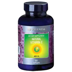 Natural Vitamin E400iu 60 Softgels