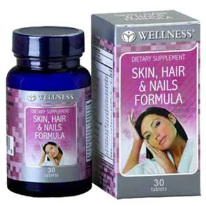 Skin Hair Nails Formula 30 Tablet