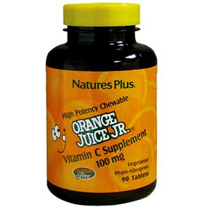 Orange Juice JR 100mg 90 Tablet