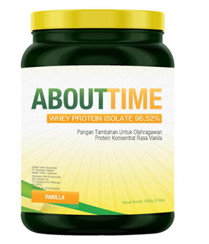 About Time Whey Protein Isolate Vanilla 2 Lbs
