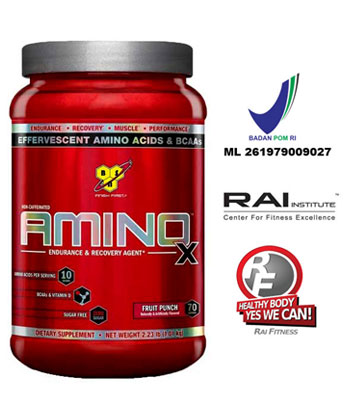 AminoX 70 Srvg Fruit Punch