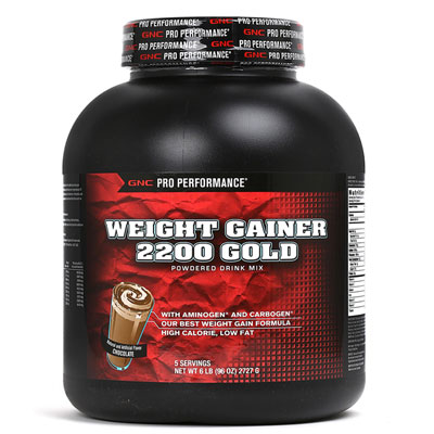 PP Weight Gainer 2200 Gold  Chocolate 6Lbs