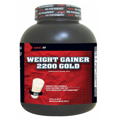 PP Weight Gainer 2200 Gold  Vanilla 6Lbs