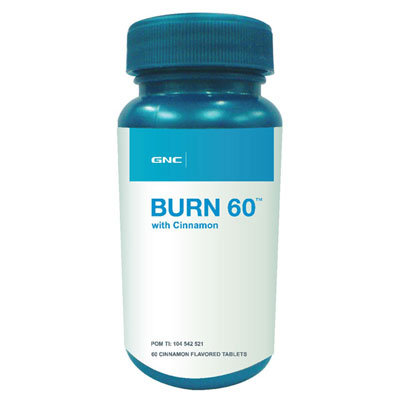 Burn60 with Cinnamon 60 Tablet