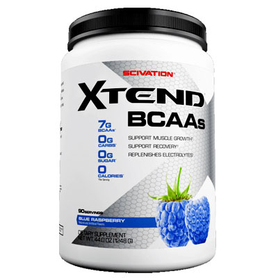Xtend BCAAs 90 Serving Blue Raspberry