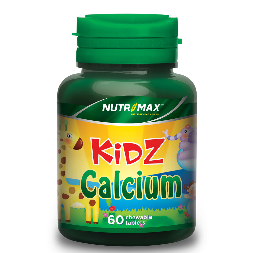 Kidz Calcium 60 Tablet