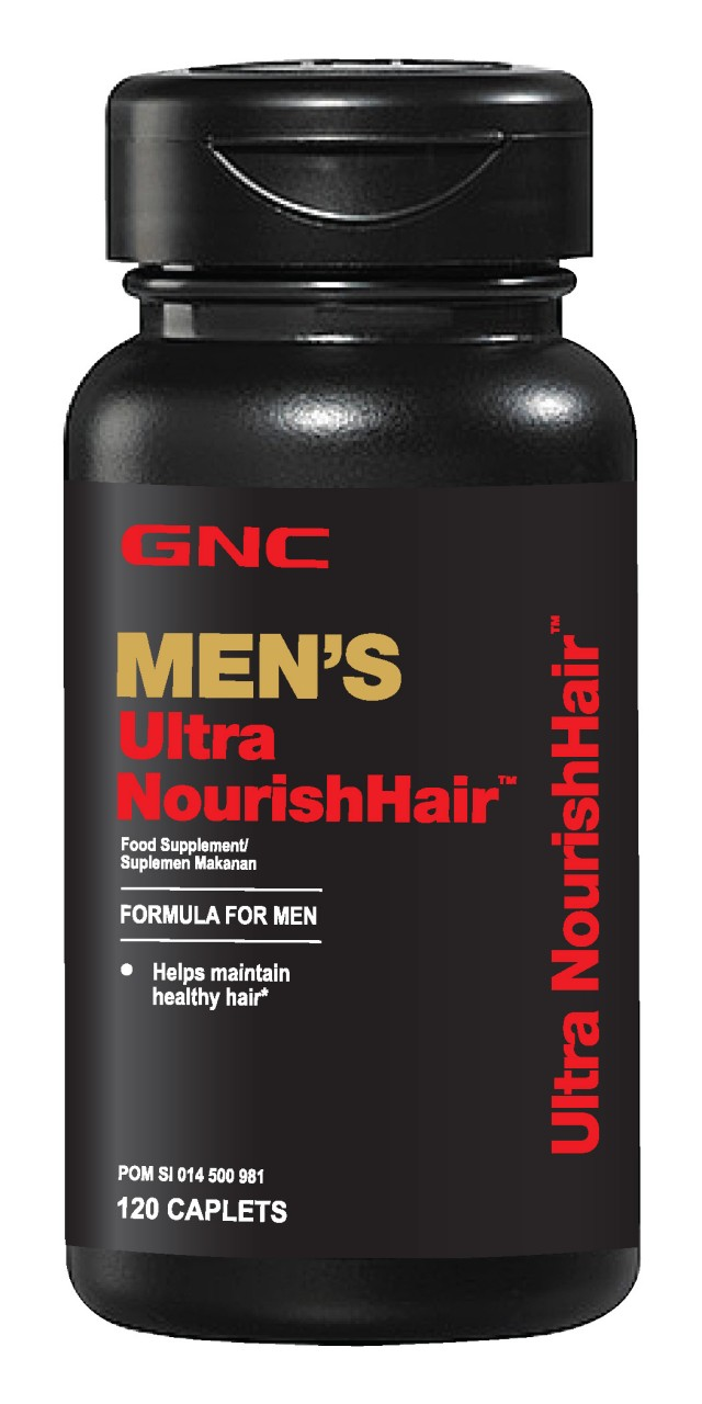 Mens Ultra Nourish Hair 120 Tablet