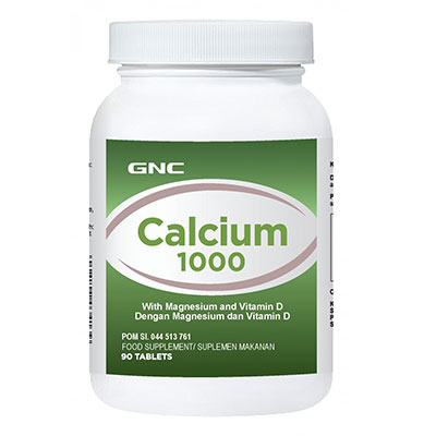 Calcium 1000 mg 90 Tablet