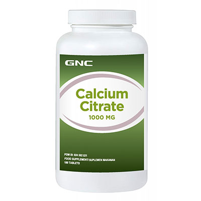 Calcium Citrate 1000 180 Tablet