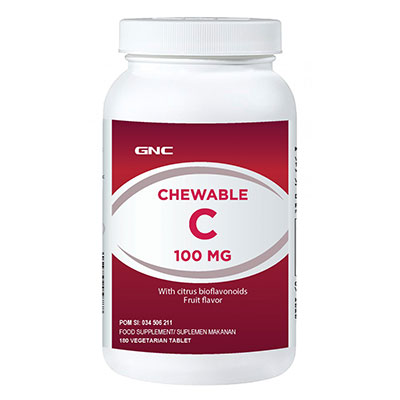 Chewable Vit C 100 mg Fruit Flavor 180 Tablet
