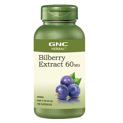 Herbal Bilberry Extract 60MG 100 Kapsul