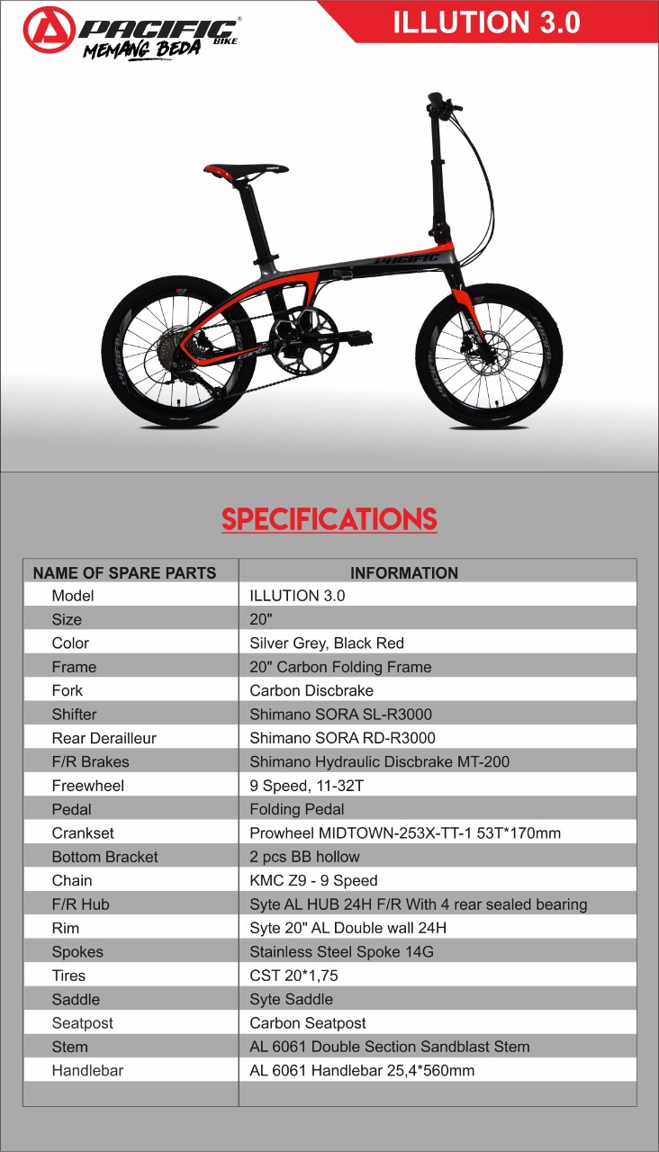 Illution 3.0 Carbon Folding Bike