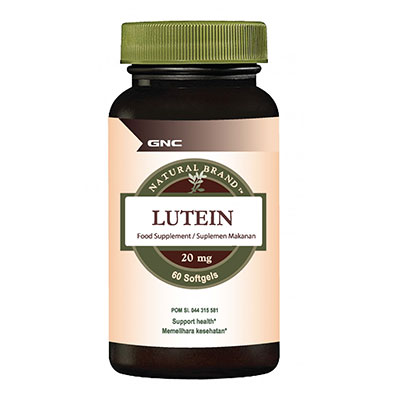 Natural Brand Lutein 60 Softgel