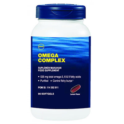 Omega Complex 90 Softgels