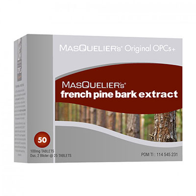 Masqueliers Original Opcs Plus Masqueliers French Pine Bark Extract  50 Tablet
