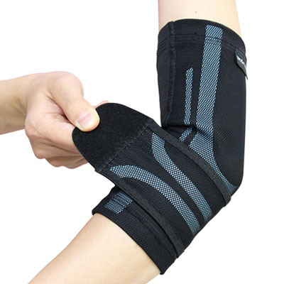 Triple-Compression Elbow Stabilizer