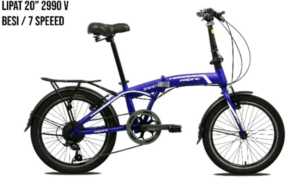 20 Inch Hi-Ten Steel Folding Bike 2990
