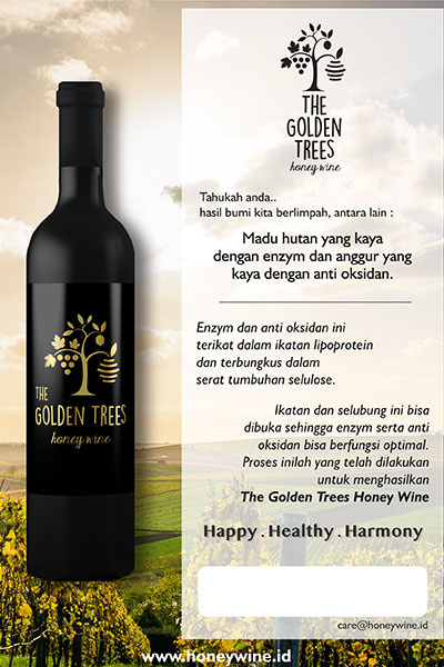 The Golden Trees Honeywine 500ml