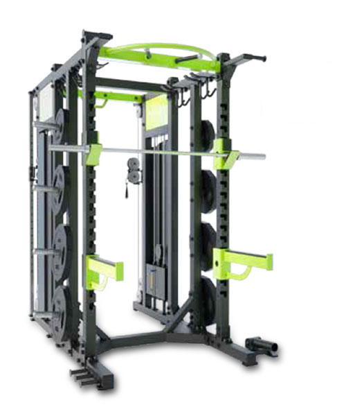 Combo Rack w/Weight Stack 100kg x 2 E6222