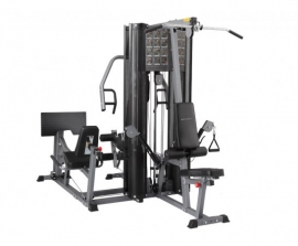 X2 Family Epress Gym 3 Station Multy Gym Incl.400 Lbs (Diamond Gray)