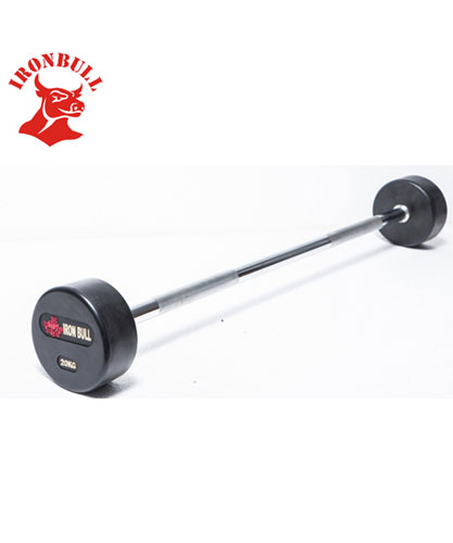 Urethane Coated Straight Barbell 15kg - IR4401