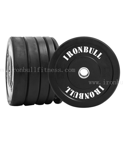 Black Rubber Bumber Plate 10kg