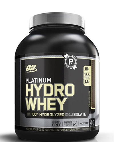 Platinum Hydro Whey 3.5Lbs Turbo Chocolate